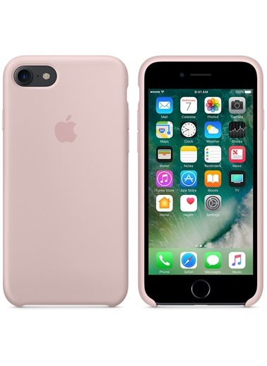 iPhone 7 Sert Silikon Kapak-Apple